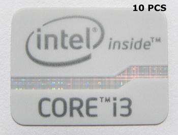 935x10 VATH 10 Pieces of Original Intel Inside Sticker 13 x 15mm 1//2 x 5//8