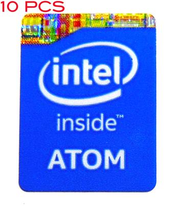 Intel Core i5 Inside metal Sticker 15.5 x 21mm 903