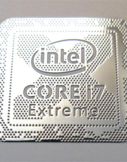 1027 11//16 x 11//16 Original Intel Core i7 vPro 9th Gen Sticker 18 x 18mm