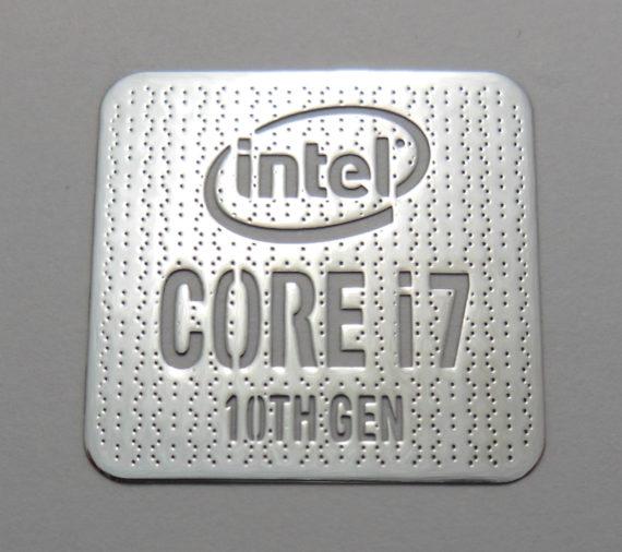 Intel Core i9 10th Gen Sticker 18 x 18mm 11//16 x 11//16 1053